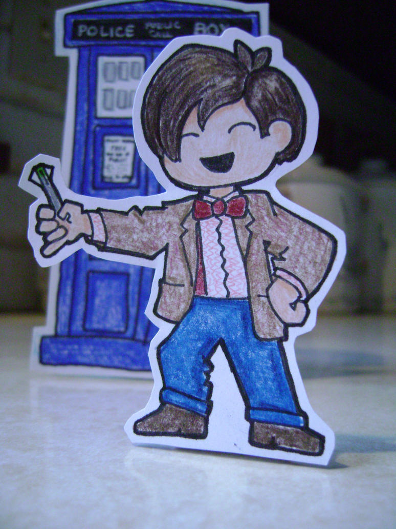 Paper Child: Chibi Eleven by CrazyFoxMoon