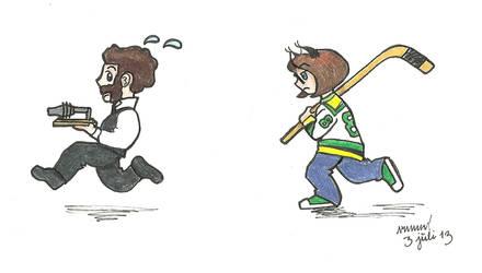 Run, Mr Bell! Run!
