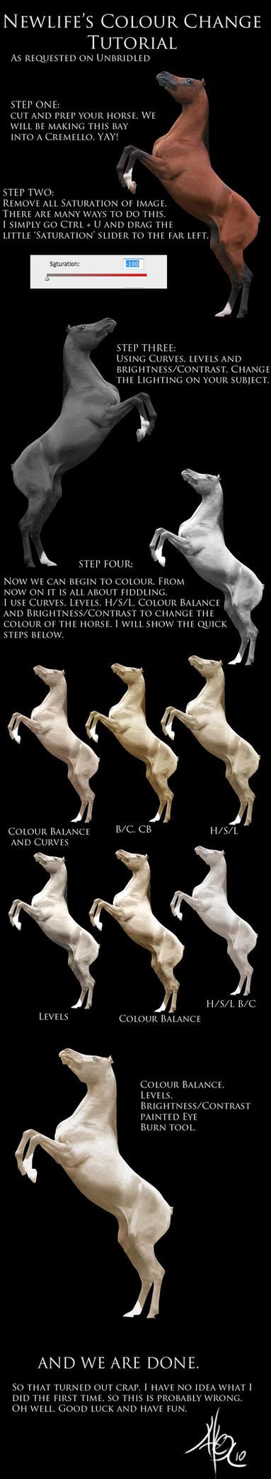 Colour Change Tut by equinelove