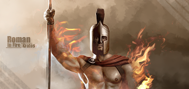 Roman in fire by kratos Roman_In_fire_by_Kratosdesing