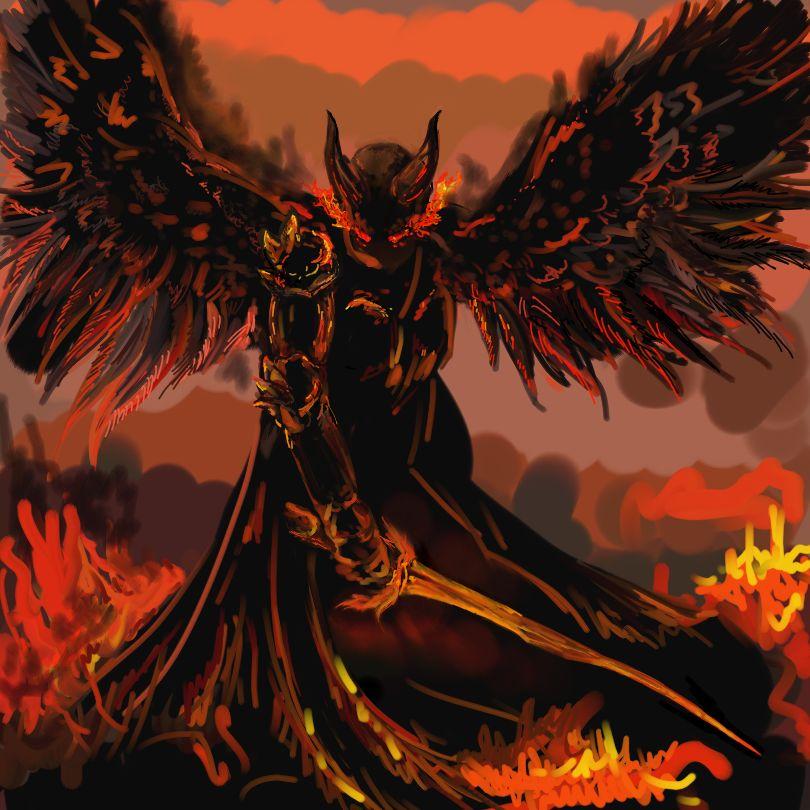 Demon Fire by Dragonitka on DeviantArt