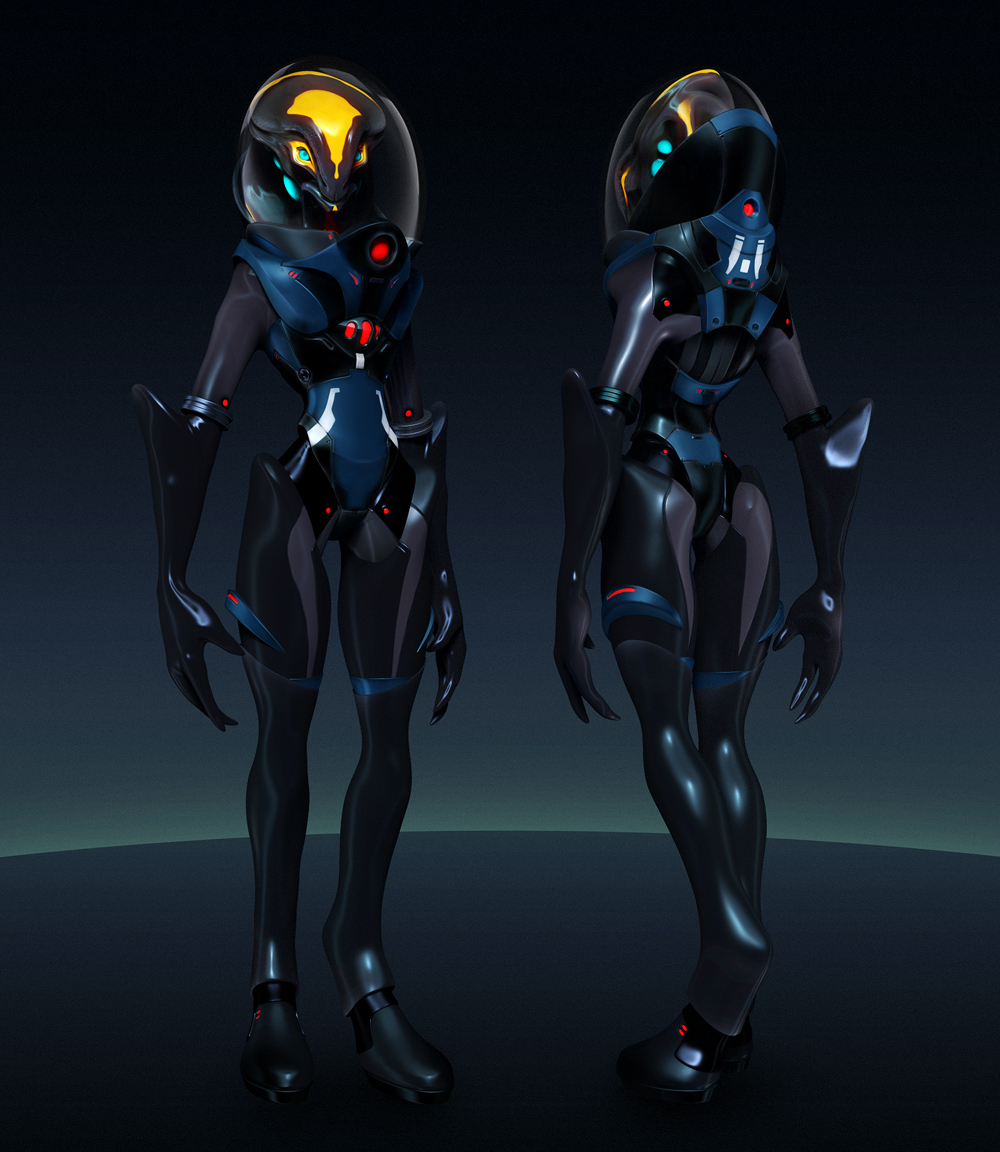 Hydra Space Suit Design By Laloon On DeviantArt