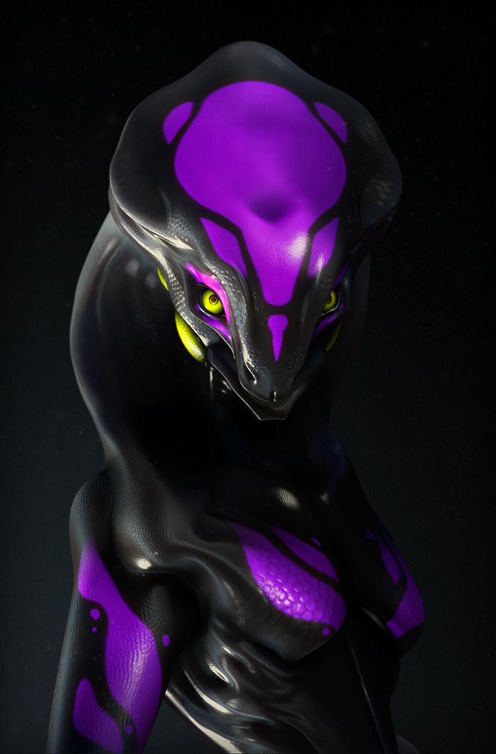 Male Hydra II by laloon