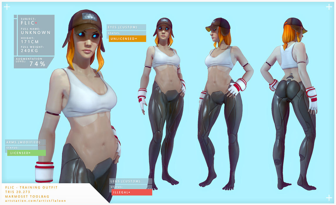 Flic - training outfit by laloon