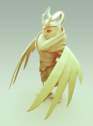 Barn owl priestess 02 by laloon