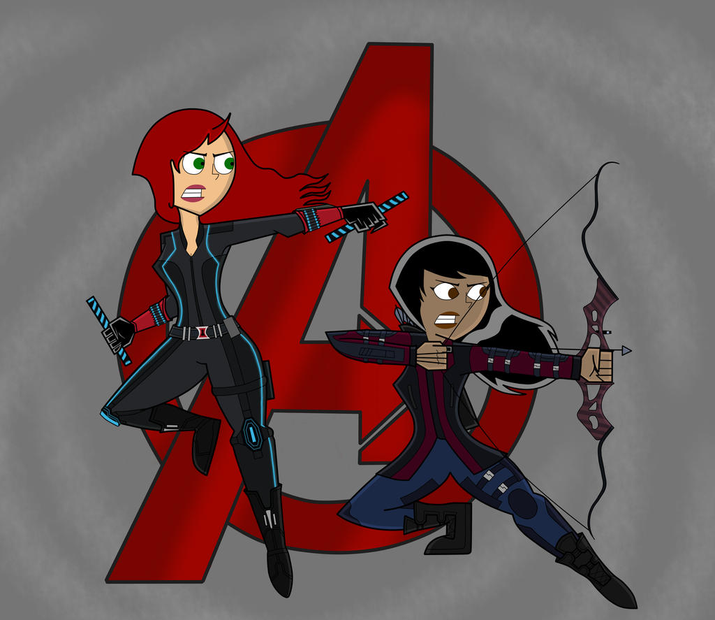 Avengers Age Of Ultron By Iloegbunam On Deviantart: Avengers Age Of Ultron: Black Widow And Hawkeye By