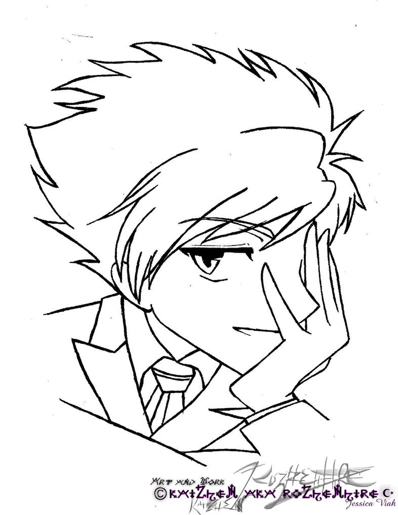 ouran highschool coloring pages - photo#21