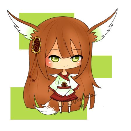 how to draw a kawaii fox