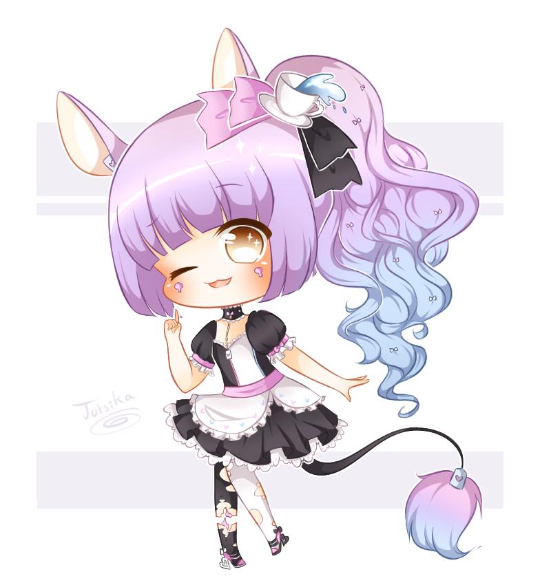 C: Chibi for StarryKins by Jutsika