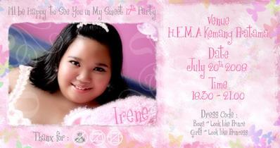 Irene's invitation by luvsugar