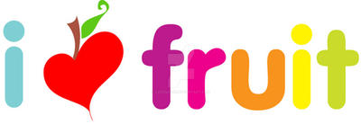 i love fruit by luvsugar