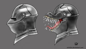 Steelskin / Knight Mimic by ArtOfZin