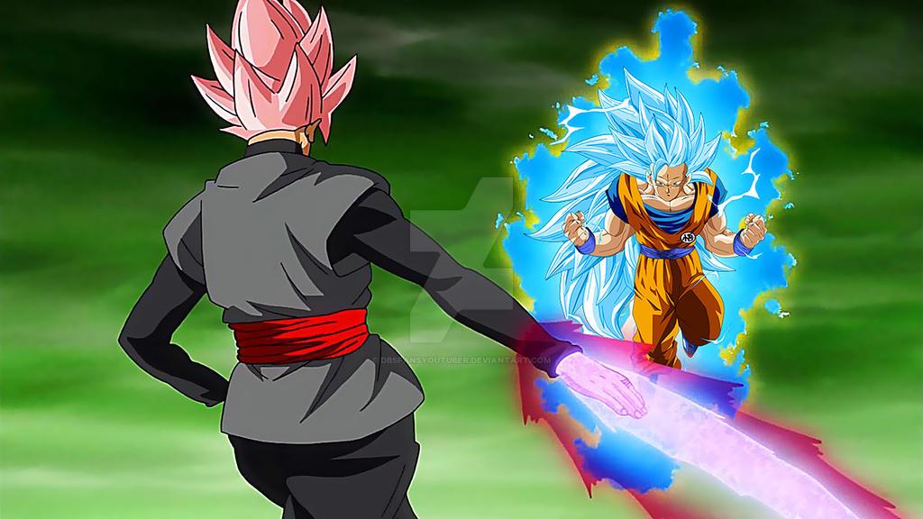 Goku Ssj4 Vs Goku Ssj3: Black Ssj Rose Vs Goku Ssj3 Blue By DbsFansYoutuber On