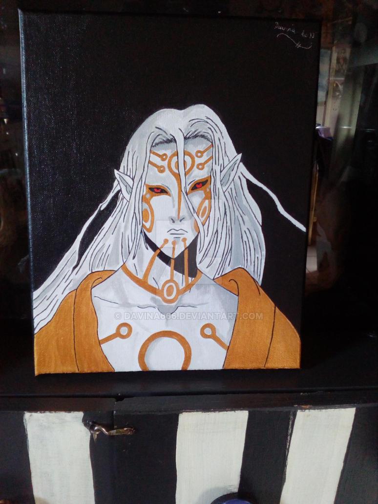 mononoke medicine seller painting  :) by davina666