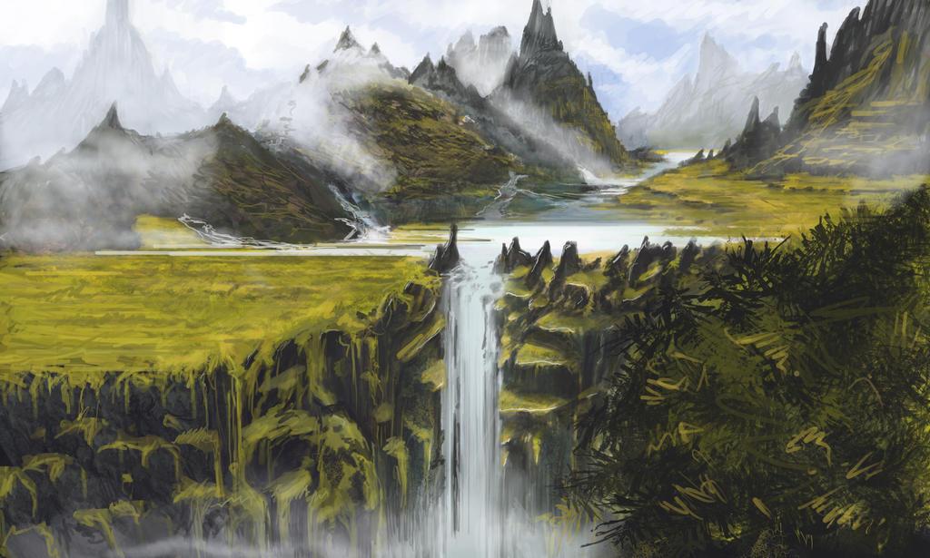 waterfall by ProtagonistSe7en