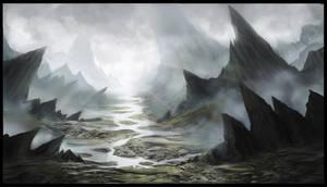 Fantasy landscape (Tutorial/workshop jonas de Ro)