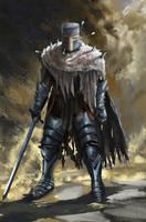 Heide knight (Dark souls fan art) by Guy-Mandude