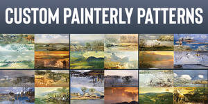 10000 Custom Painterly Patterns for Photoshop