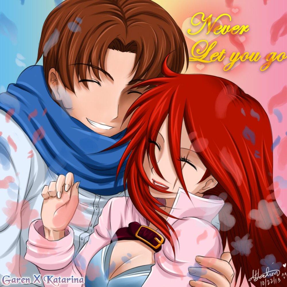 Garen X Katarina - Never let you go by Dweynie