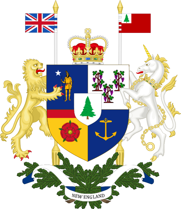Arms of the Dominion of New England by Keperry012