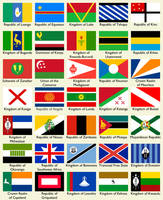AnAm: Flags of Southern Africa by Keperry012