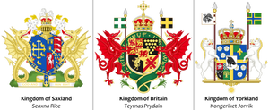 The Hundred Kingdoms: Arms of Southern Britain
