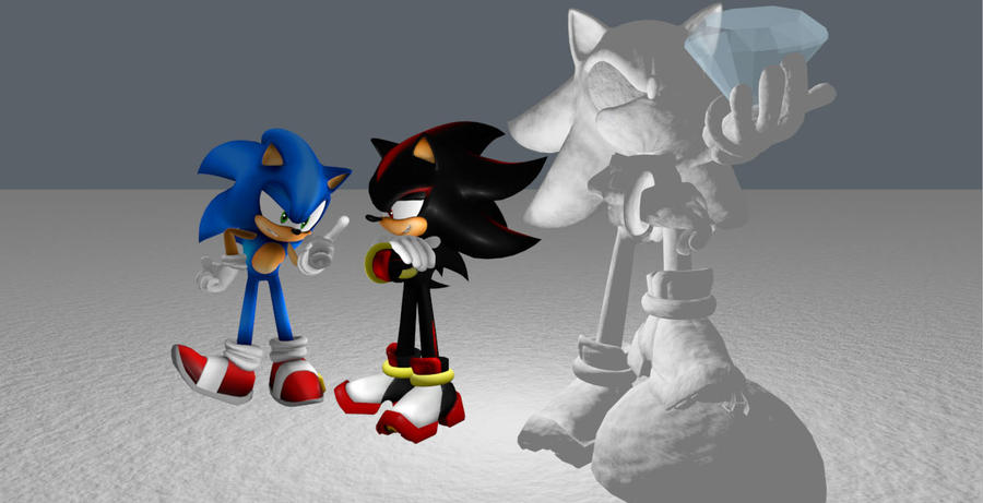 after all Sonic, I AM the ultimate life form by 9303kaha on DeviantArt