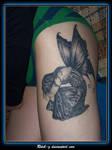 Zindy Tattoo Healed