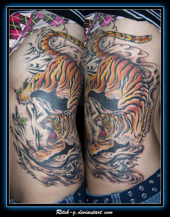 Giant Tiger Color by ritch-g
