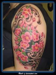Cherry Blossom Swirly