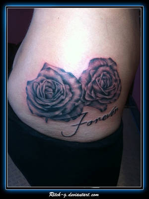 Roses on Hip