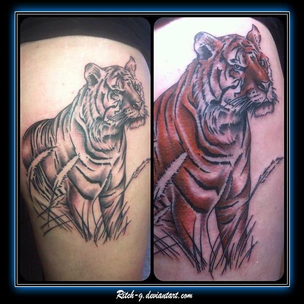 Tiger Piece in prog.