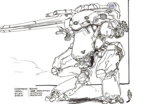 Metal Gear Rhino by TheZombieHunter