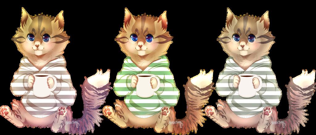 Sweater Cat YCH Dei by iHeadsetShiba