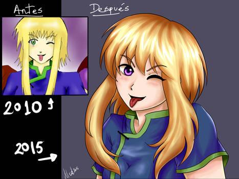 Reiko 2010 vs Reiko 2015