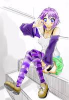 MIZORE-chan by ninjamaster4792
