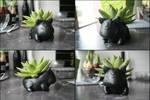 .:Sculpt:. Bulbasaur plant pot