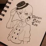 .:Inktober:. #1 Kagamine Len - Dream eater