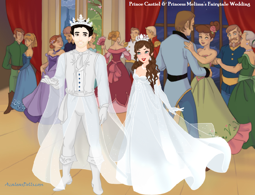 Prince Castiel And Princess Mels Fairytale Wed By Misstudorwoman On