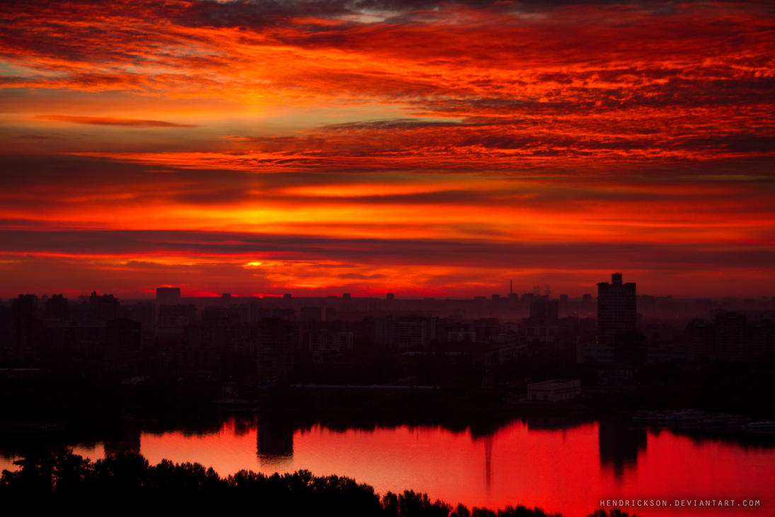 red dawn by Hendrickson