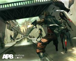 APB-criminals fight by DA1SHI