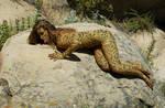 Dana as snake