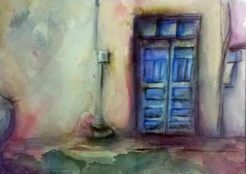 Blue Door by G-SJ