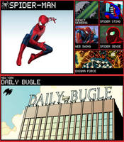 SSB moveset - Spider-Man by Sandvich33