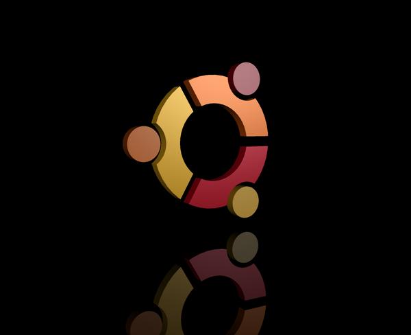 Ubuntu wallpaper by EricBrooks