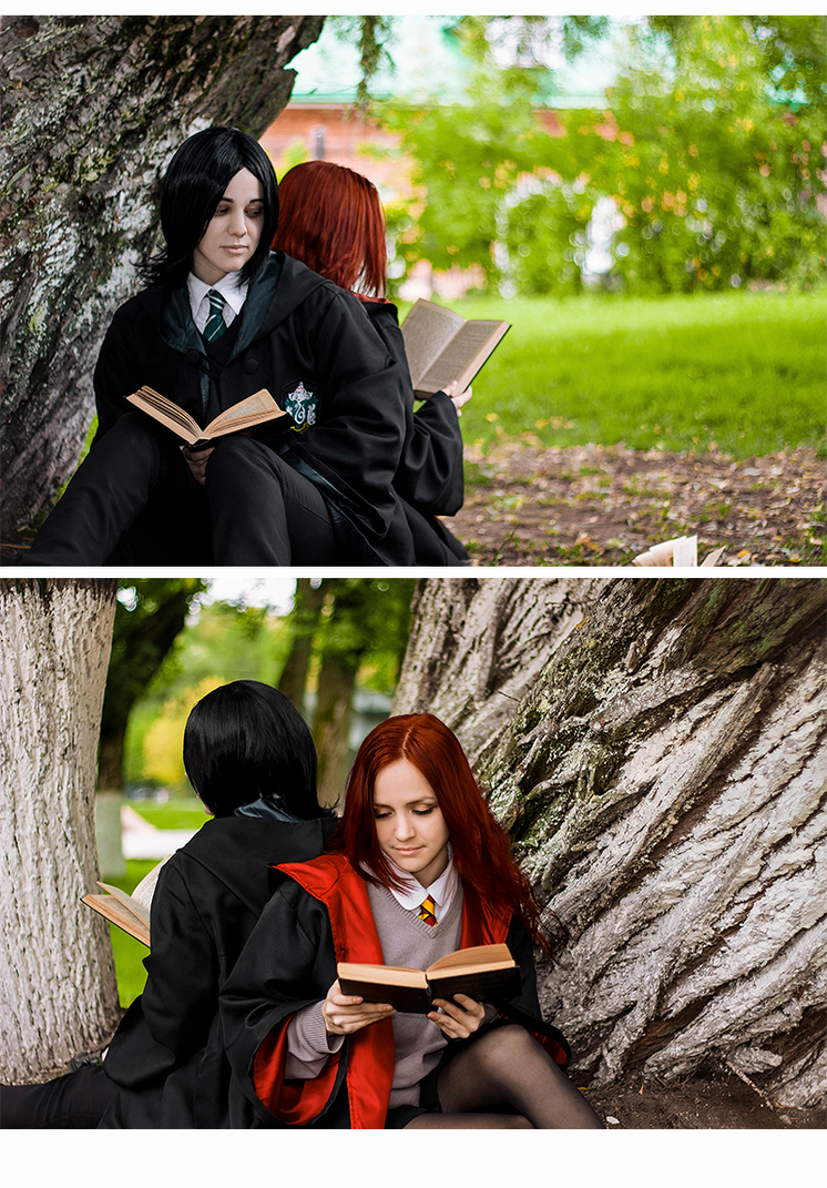 Snape and Lily [HARRY POTTER] 3 by Akaomy
