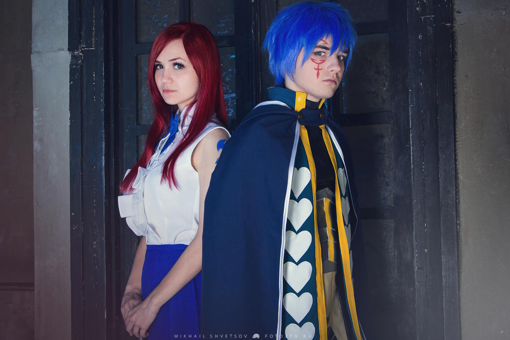 FAIRY TAIL - Erza Scarlet, Jellal Fernandes 2 by Akaomy on ...