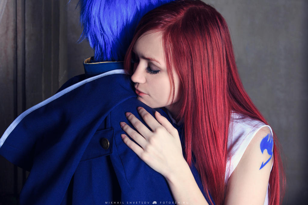 FAIRY TAIL - Erza Scarlet, Jellal Fernandes 5 by Akaomy on ...