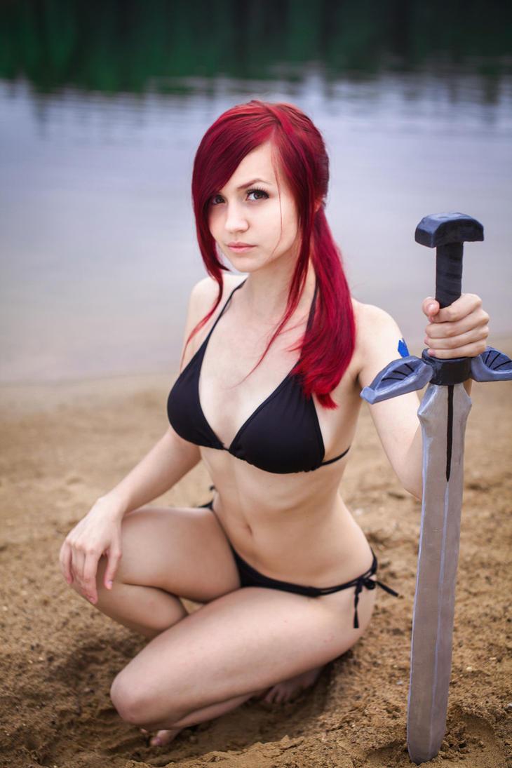 FAIRY TAIL [OVA-4] - Erza Scarlet [Beach Armor] 2 by