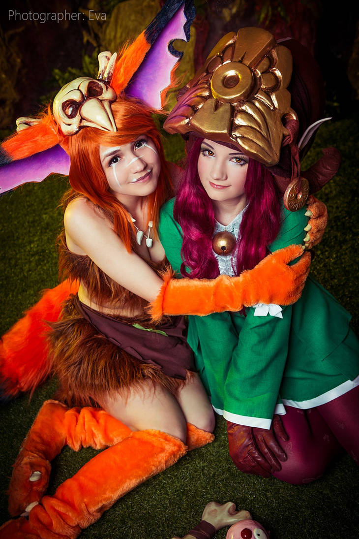 Gnar and Lulu - LEAGUE OF LEGENDS [10] by Akaomy